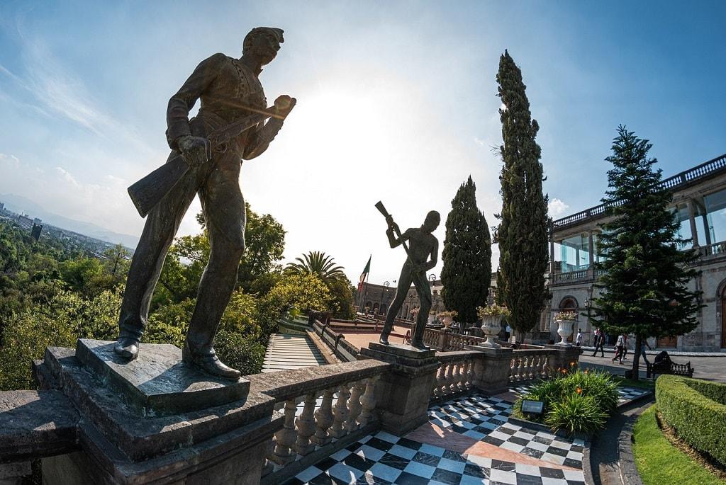 Niños héroes in Chapultepec