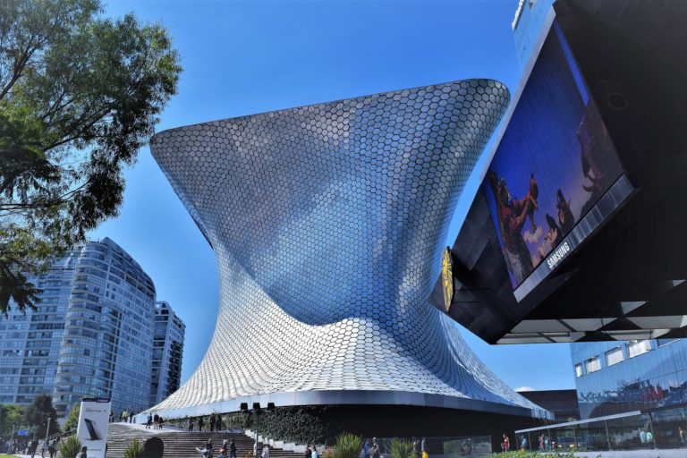 Soumaya Museum in Mexico City