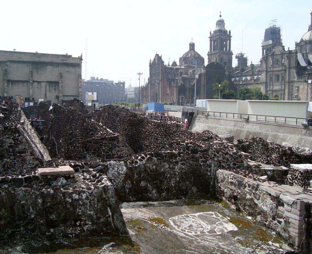Templo Mayor in Mexico City