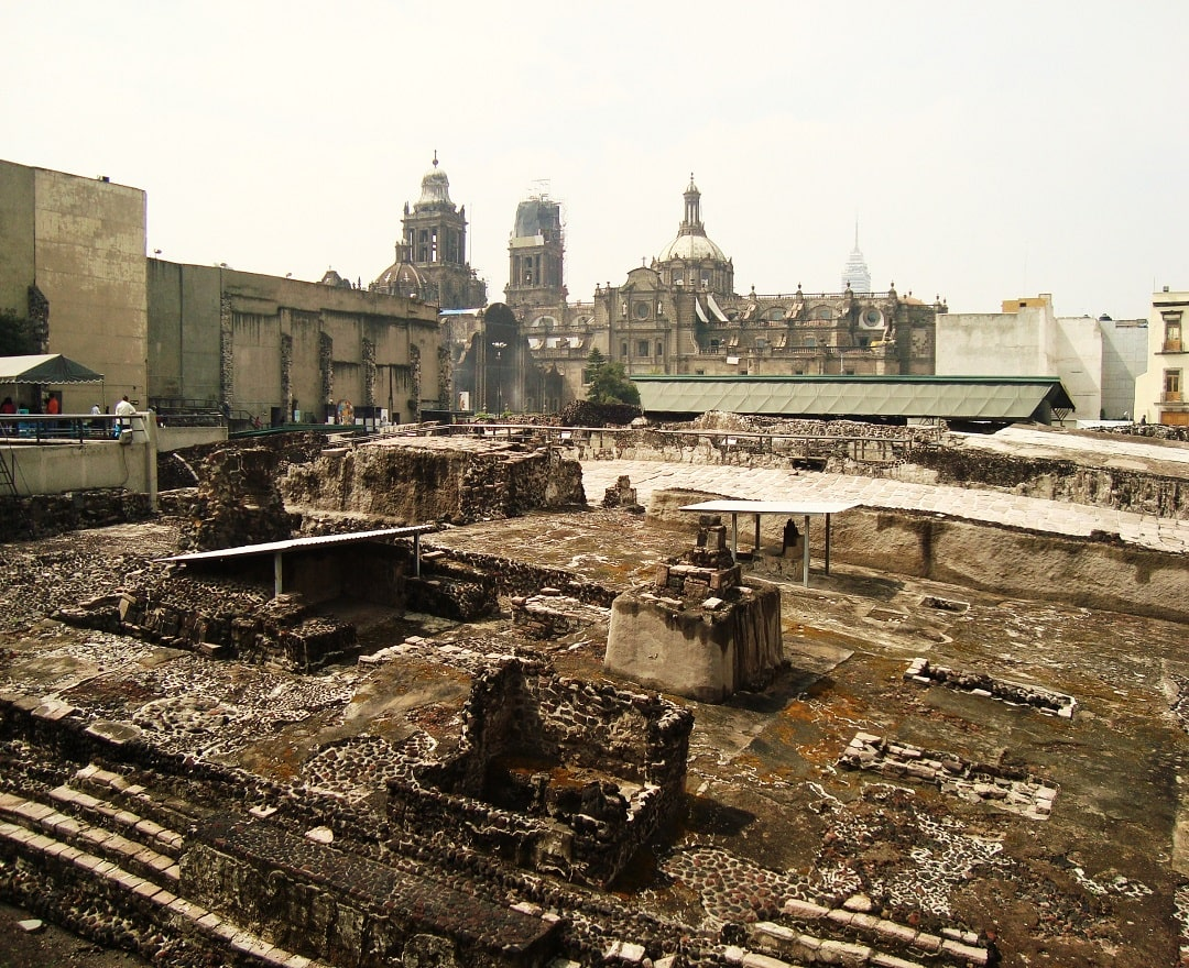 """Visit the """"Templo Mayor"""" (Great Temple) and learn more about Ancient Mexico"""